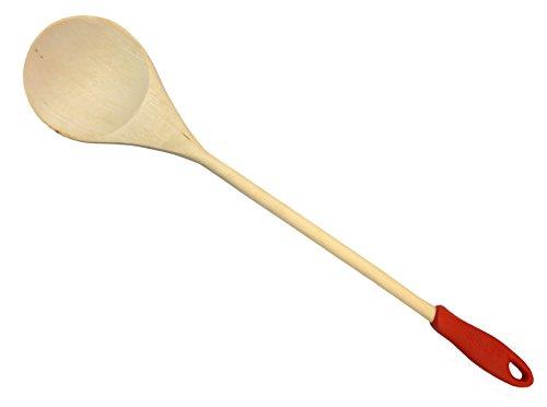 IMUSA J100-5-5020 18-Inch Wood Cooking Spoon, Jumbo -