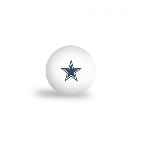 DALLAS COWBOYS PING PONG BALLS - 6 PACK by WSE