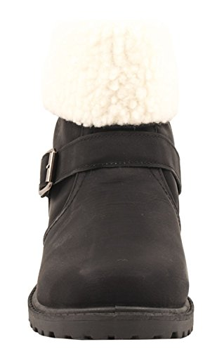 Elara Women's Slip-On Boots Black TNyMEzzUuY