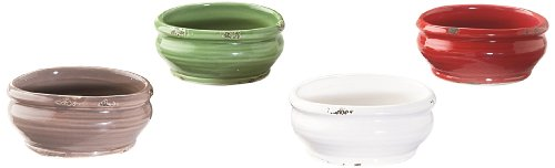 Caffco International Biltmore Inspirations Collection Vineyard Accent Bowls, Set of 4