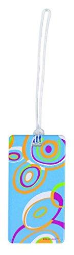 Lewis N. Clark Fashion Luggage Tag, Circles - 7468
