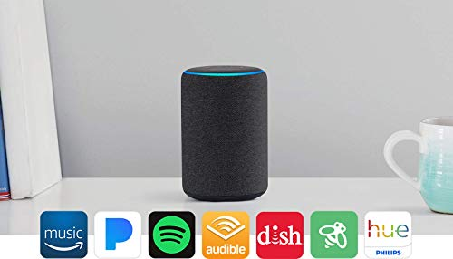 All-new Echo Plus (2nd Gen) Bundle with Philips Hue Bulb - Charcoal