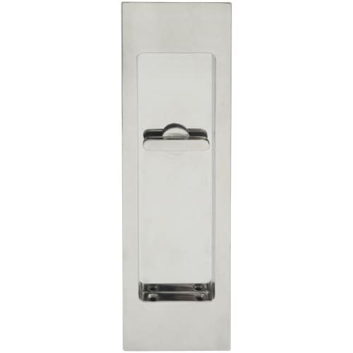 Brass Accents Flush Bolt (INOX FH2782-14 PD Series Pocket Linear Flush Pull with Tt08 Thumb Turn, Polished Nickel)