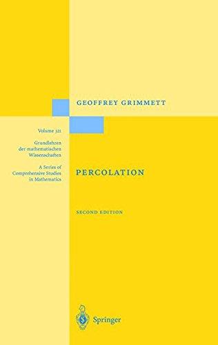 Percolation (Grundlehren der mathematischen Wissenschaften)