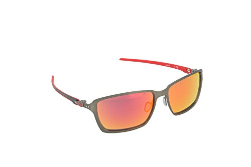 Oakley Men's Tincan Carbon OO6017-07 Iridium Rectangular Sunglasses, Carbon, 58 - What Is Lenses Iridium