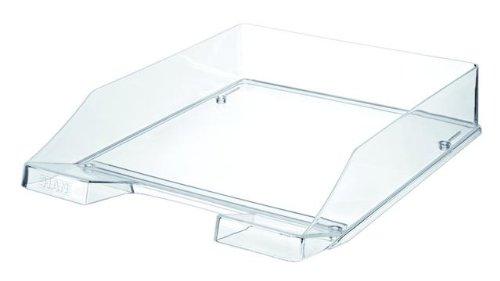 HAN 1026-X-23, Briefablage KLASSIK, Modern, Schick, Transparent und Hochglänzend, 6er Packung, transparent-glasklar