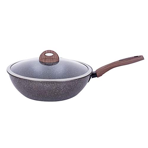 Contemporary hard anodized aluminum non-stick pan, ()