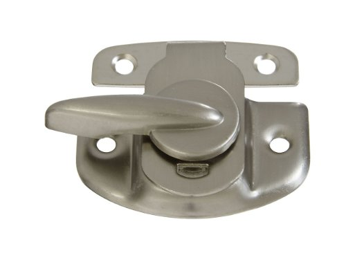 National Hardware N325-654 MPB602 Tight Seal Sash Lock, Satin Nickel 48 Pack by National Hardware