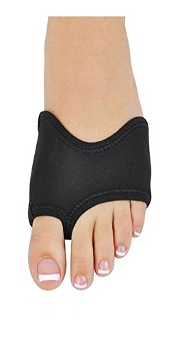 NEOPRENE HALF SOLE SANDAL (Large (8.5-12) (large also fits men's 6.5-10), BLACK)