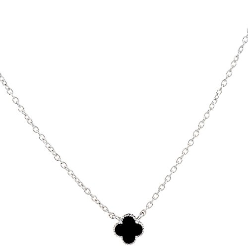ginasy-lucky-clover-design-with-rhinestone-925-sterling-silver-necklace-6mm-8mm-12mm-nkysb-1541