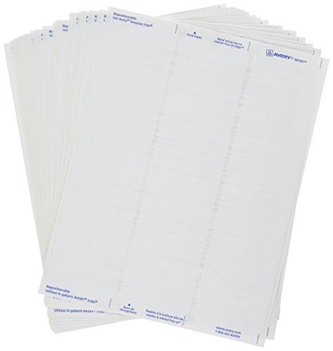 Avery Repositionable Address Printers 58160