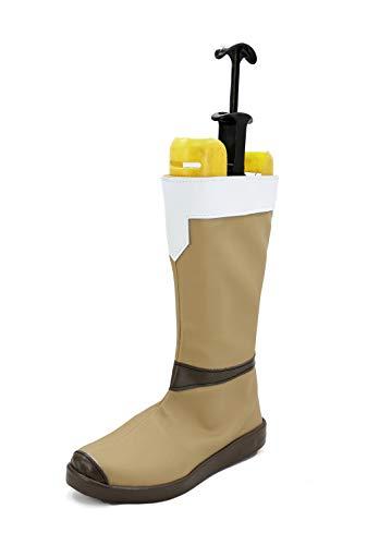 veribuy Halloween Men Hero Cosplay Shoes Guardian Costume Cosplay Boots]()