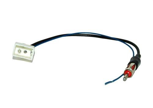 Kit dinstallation dautoradio pour Toyota Aygo Citroen C1/Peugeot 108//à partir de 2014/Fa/çade autoradio double DIN Adaptateur antenne radio