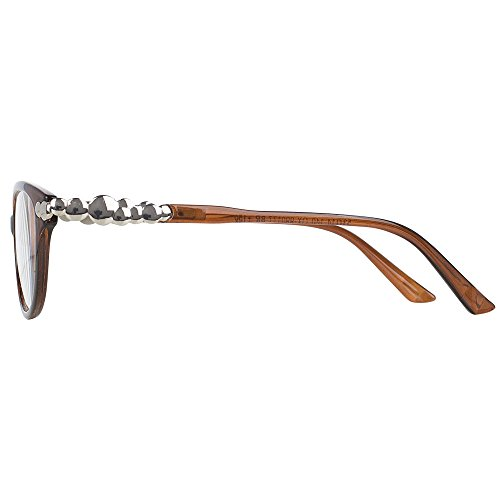 Pack of 4 Women's Reading Glasses - Stylish, Comfortable Ladies' Readers by Optix 55 (Image #1)