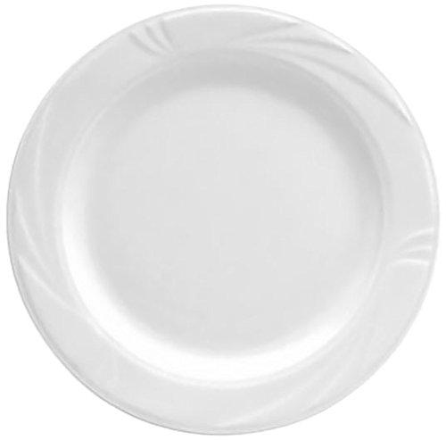 Oneida Foodservice R4510000152 Arcadia Dinner Plate, 10.625'', Bright White Porcelain