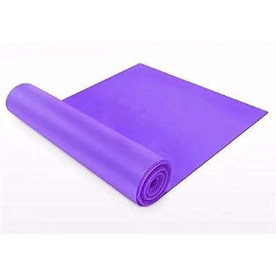 Dgtech Bande de résistance professionnel Bandes élastiques en latex pour inférieur et supérieur et le corps Core d'exercice, la thérapie physique, DE réduire Pilates-multicolor en opt