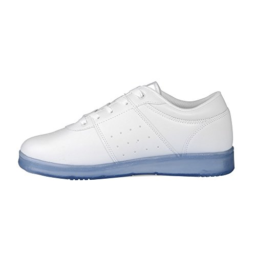 Lugz Mens Force Fashion Sneaker White/Ice Perma Hide JvX5ETs8