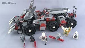 LEGO Legends of CHIMA Worriz' Combat Lair w/ Minifigures & Accessories | 70009