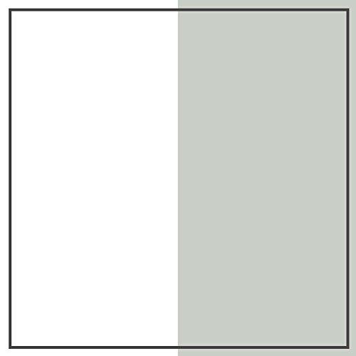 "South Shore 10512 39"" Cookie Bookcase Headboard, Twin, Soft Gray & Pure White"