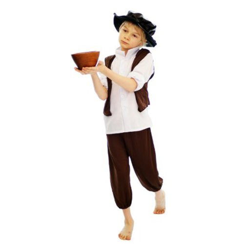 Henbrandt Fancy Dress Victorian Urchin Oliver Twist - Medium 7-9 years