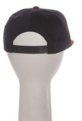 MLB Cleveland Indians Flat Bill Classic Logo Snapback Hat Cap