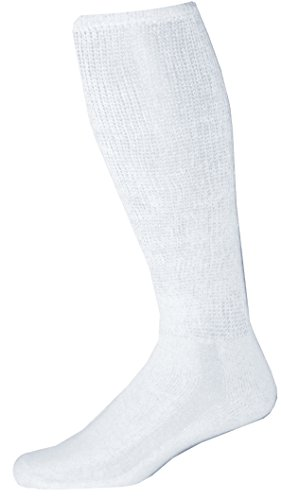 Physicians-Choice-Diabetic-Over-The-Calf-Length-Crew-Socks-12-Pair-10-13-White
