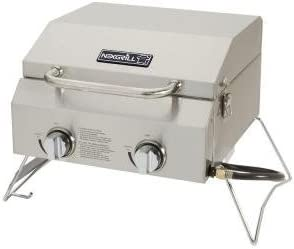 Nexgrill 2-Burner Portable Propane Gas Table Top Grill