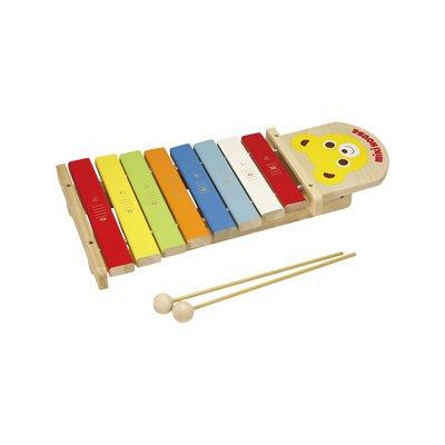 ミキハウス 木のおもちゃ シロフォン 木琴 16-1567-675