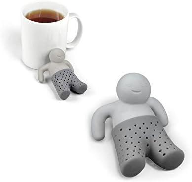 /Infusor Infusion t/é Filtro bola mu/ñeco Mr Tea Relax silicona /Mr Tea/ Shop Story/