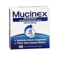 Mucinex Extended-Release Bi-Layer Tablets
