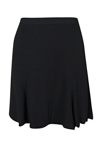 - RALPH LAUREN Polo Women's Flared Crepe Mini Skirt (4, Black)