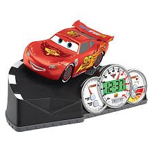 Disney Cars Lightning McQueen alarm clock ( alarm clock table clock u0026 Watch ) (Disney Cars Alarm Clock)