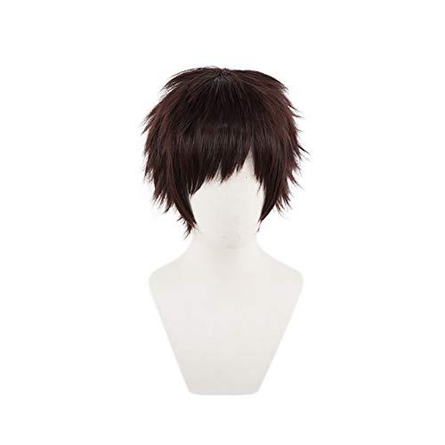 C-ZOFEK My Hero Academia Anime Overhaul Kai Chisaki Cosplay Wig (Brown) -