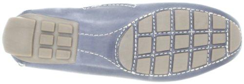 Clarks Dunbar Racer 203_Dunbar Racer Damen Espadrille Halbschuhe Blu (Blue)