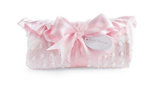 Mud Pie Baby Classic Keepsakes Pink Receiving Blanket