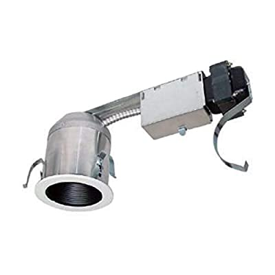 "Lum-Tech Lighting 41015-4"" Low Voltage LED Remodel Recessed Housing (LEDH-RT41CAR-E227 277V-12V)"