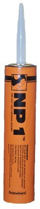 Pack of 24 - MasterSeal NP1 Medium Bronze Polyurethane Caulk by MasterSeal NP1