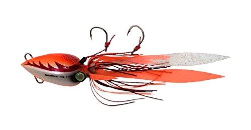 UPC 022255373470, Shimano Lucanus Jigs - 150g/5.29 oz. - Owner Hook Size 3 or 1/0 - Color #5-Orange/White