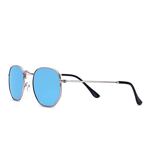 gafas metal 145 del 44m polígono sol Las A retro las de gafas forman coloridas del de sol NIFG 135 m 6q51wxFvax