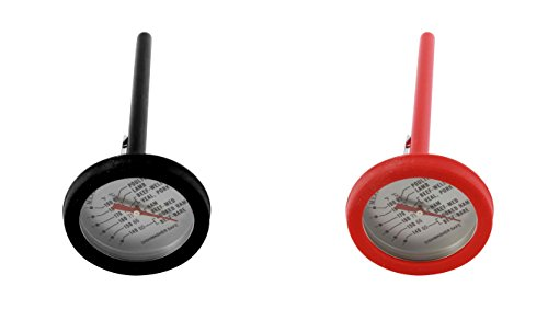 Good Living Internal Meat Thermometer and Instant Read Probe, Colors Vary - Pack of 1 Acu Rite Meat Thermometer