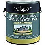 Valspar 27-0004260 Metal Building Siding & Roof Finish, Brite White ~ Gallon