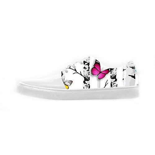 Custom Colore Flying Butterfly Womens Canvas shoes Le scarpe le scarpe le scarpe.  El Precio Barato Venta En Línea Real gO3um