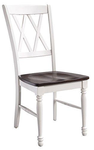 (Crosley Furniture CF501018-WH Shelby Dining Chairs (Set of 2), White)