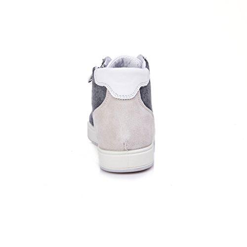 sneakers uomo camoscio perla grigio IGI&CO 77266