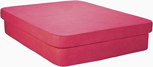 La-Fete Design Crib Queen Resort Bed, Candy Apple