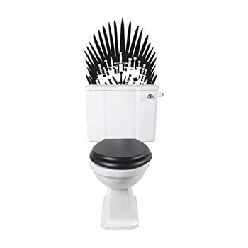 Amazoncom Game Of Throne Parody Inspired Toilet Decal Iron Throne