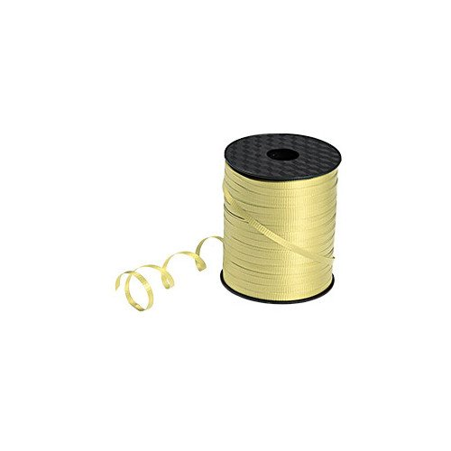 10 Roll Champagne Curling Ribbon 3/16