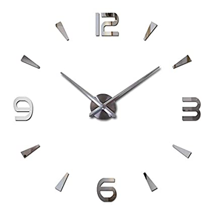 Batop 2018 New Wall Clock Quartz Watch - Modern Design Large Decorative Clocks - Europe Acrylic