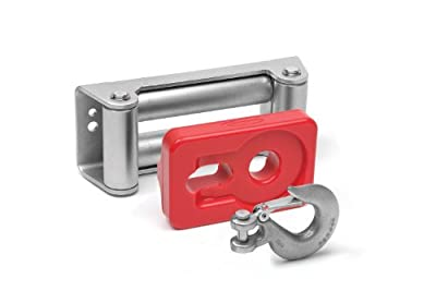 Daystar KU70039RE Winch Isolator (Roller) - Red