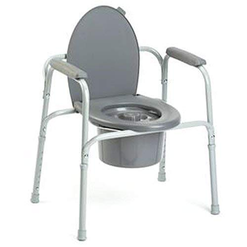 Invacare Corporation All In One Aluminum Commode By Invacare